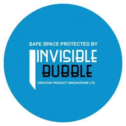 safe space protected by an invisible bubble